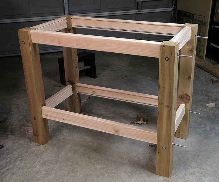 Project Working Idea: How to build a woodworking bench plans