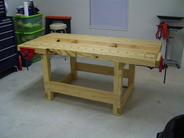 Kyle's LVL Workbench - The Wood Whisperer