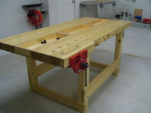 Kyle's LVL Workbench - The Wood Whisperer