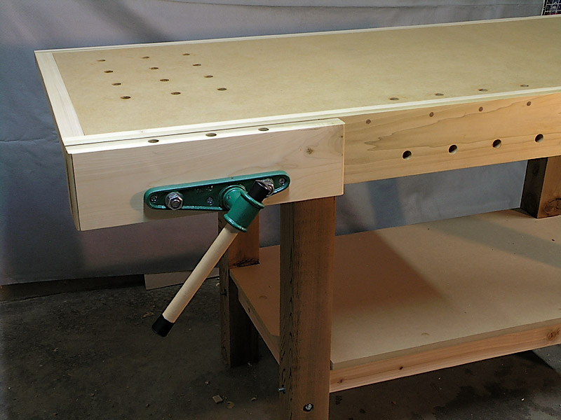 Woodworking Bench Vise Installation Online Woodworking Plans