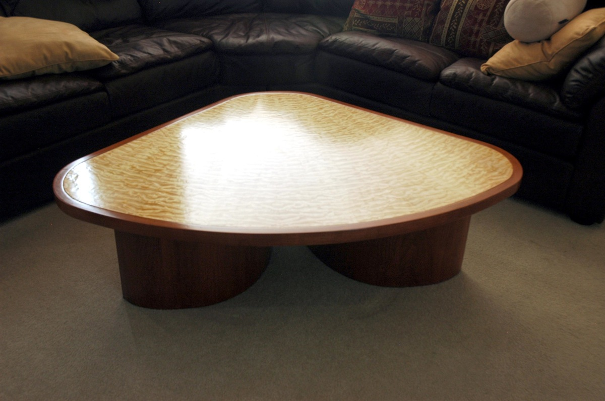 Finished It Is A Coffee Table For A Corner Sectional Couch The Table