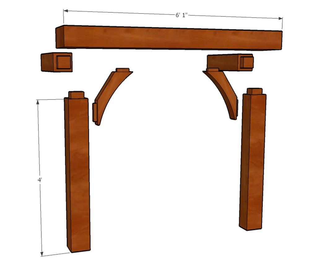 cedar furniture plans