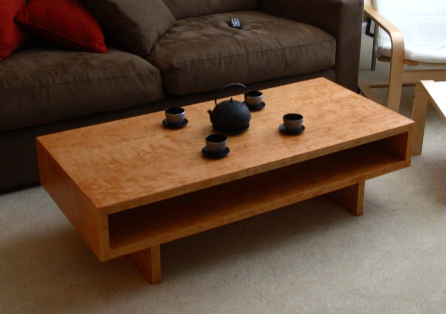 Frank S Unique Coffee Table The Wood Whisperer