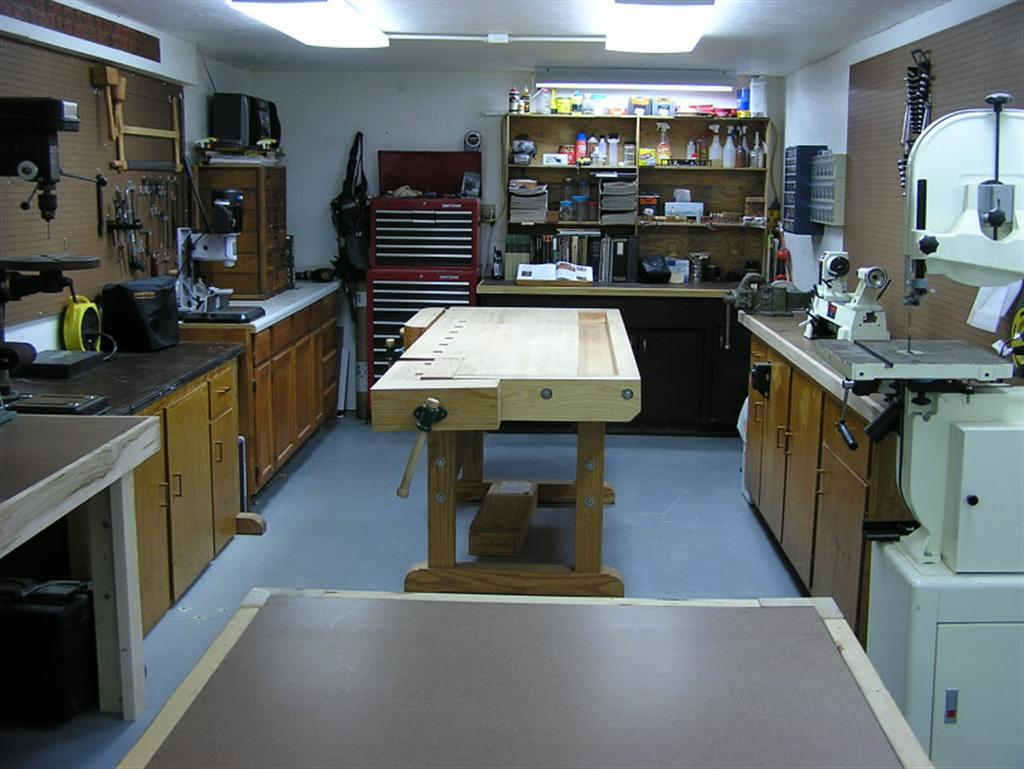 current20shop20005 large john's basement woodshop shop tour the wood whisperer,Home Woodshop Design
