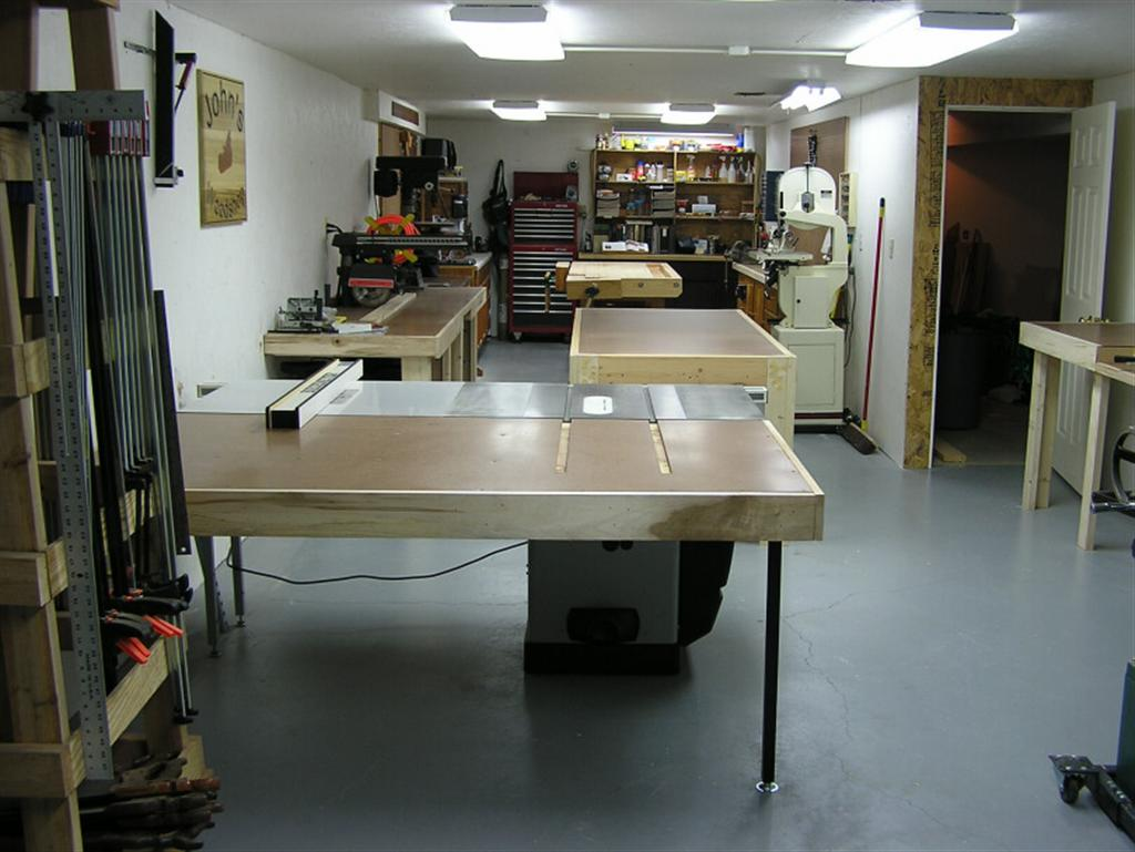 John's Basement Woodshop - Shop Tour - The Wood Whisperer