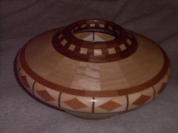 Segmented Vase The Wood Whisperer