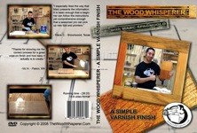 A Simple Varnish Finish DVD