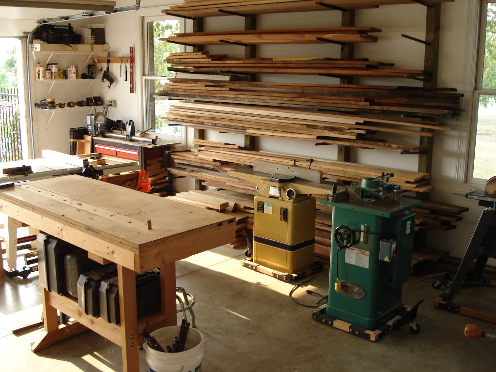 Greg's Woodshop - Shop Tour - The Wood Whisperer