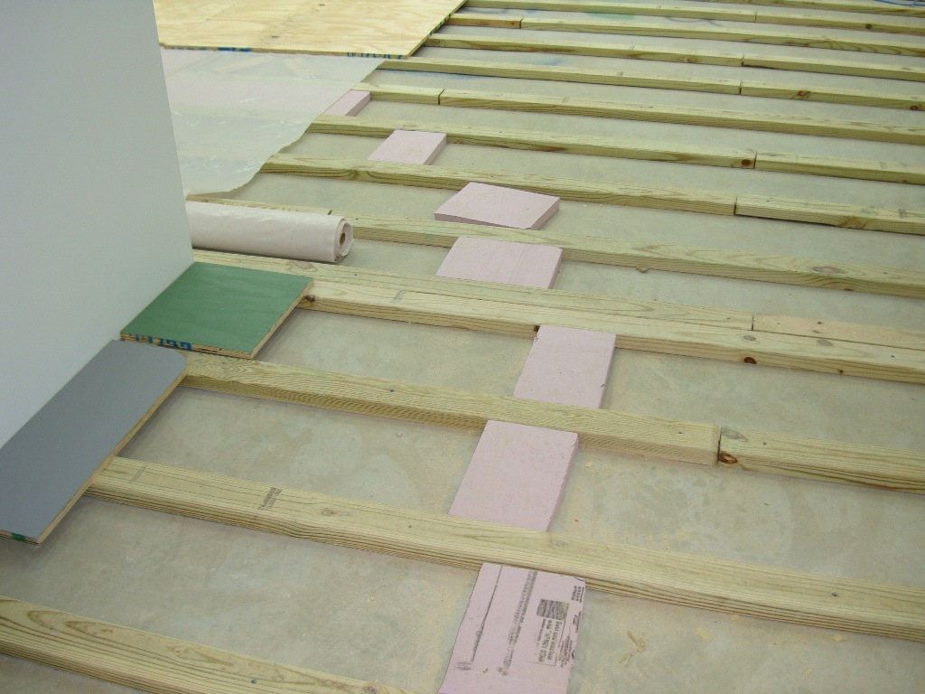 How to Install a Plywood Shop Floor - The Wood Whisperer