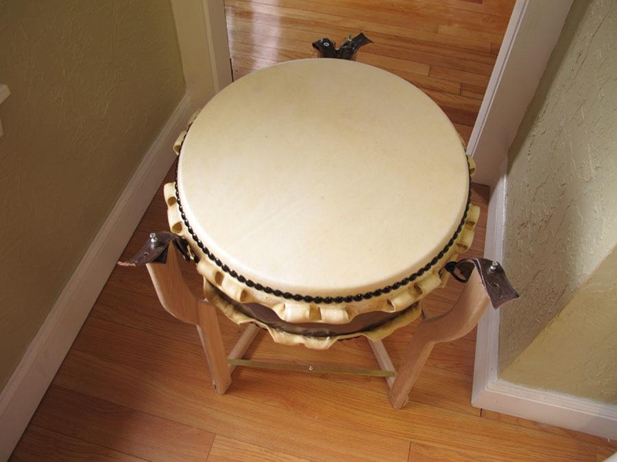 Custom Japanese Drum Stand The Wood Whisperer