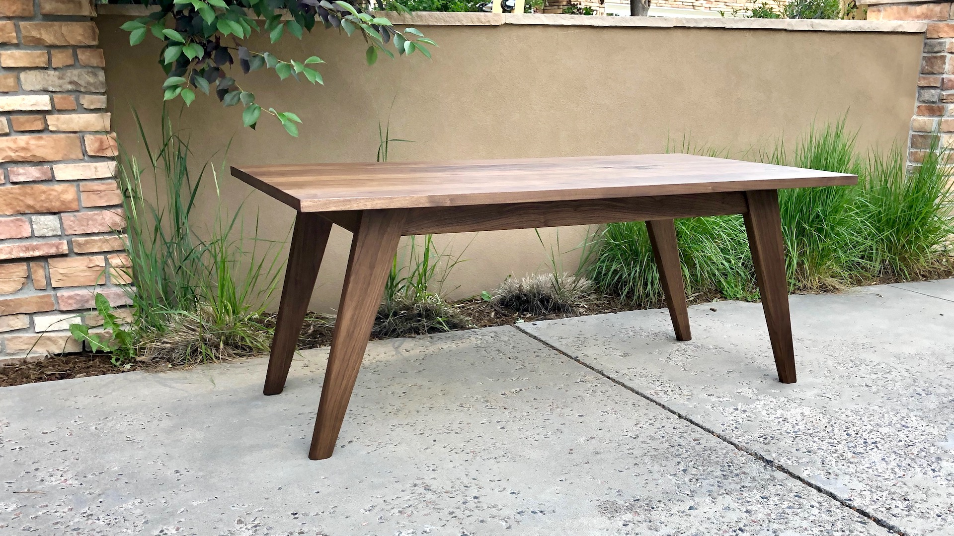Mid Century Modern Dining Table The Wood Whisperer