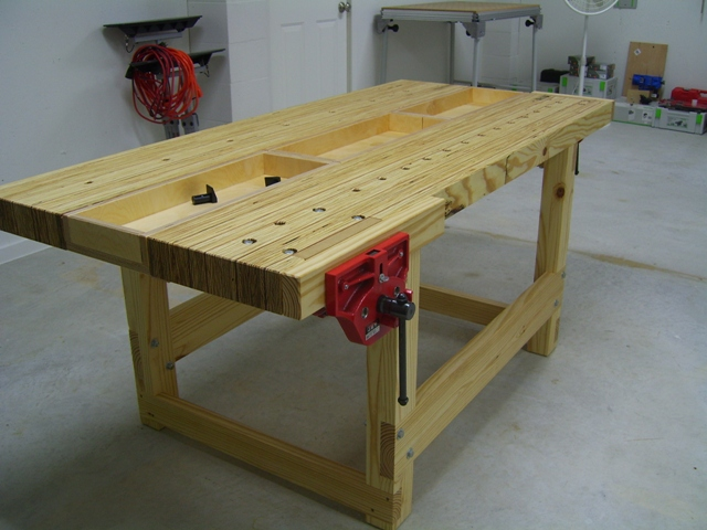 Pleasant Kyles Lvl Workbench The Wood Whisperer Creativecarmelina Interior Chair Design Creativecarmelinacom