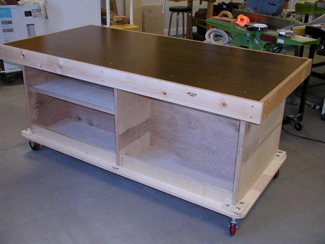 Len S Torsion Box Assembly Table The Wood Whisperer