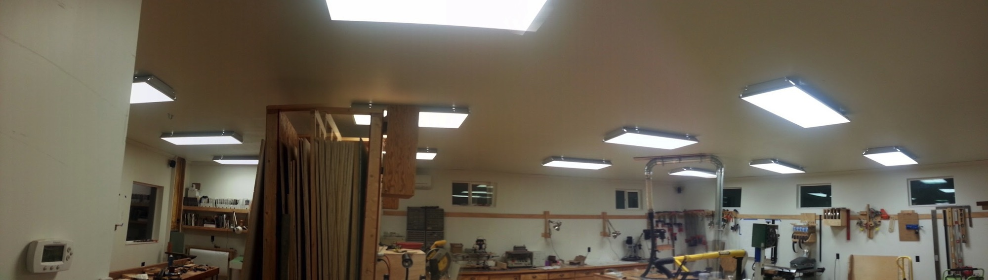 Shop Lighting For Woodworkers The Wood Whisperer