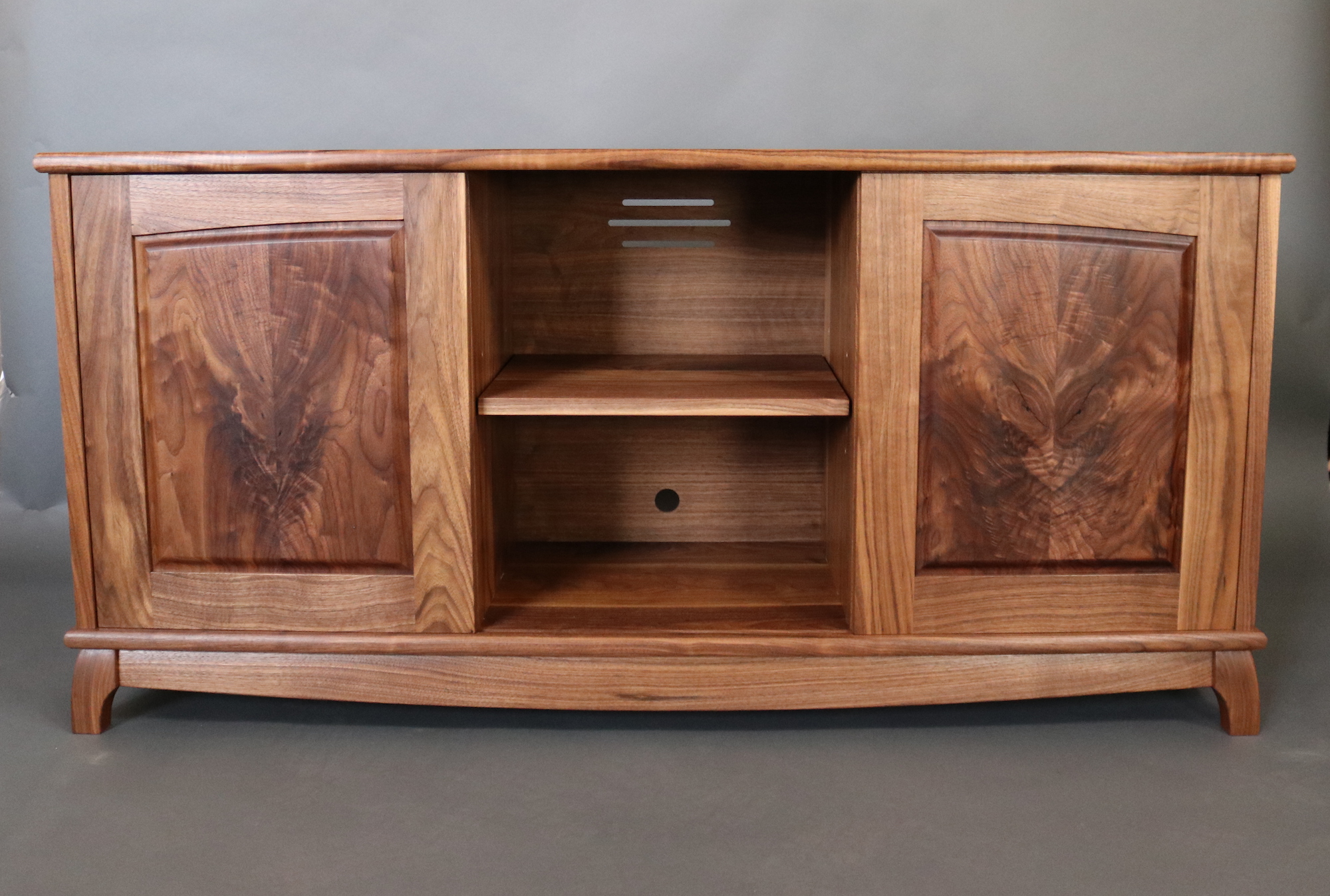 Media Credenza, Now with More Crotch! - The Wood Whisperer