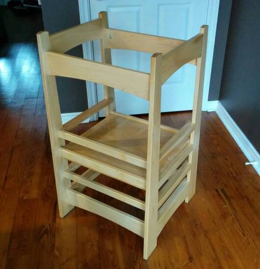 Marvelous Kids Kitchen Step Stool Alphanode Cool Chair Designs And Ideas Alphanodeonline