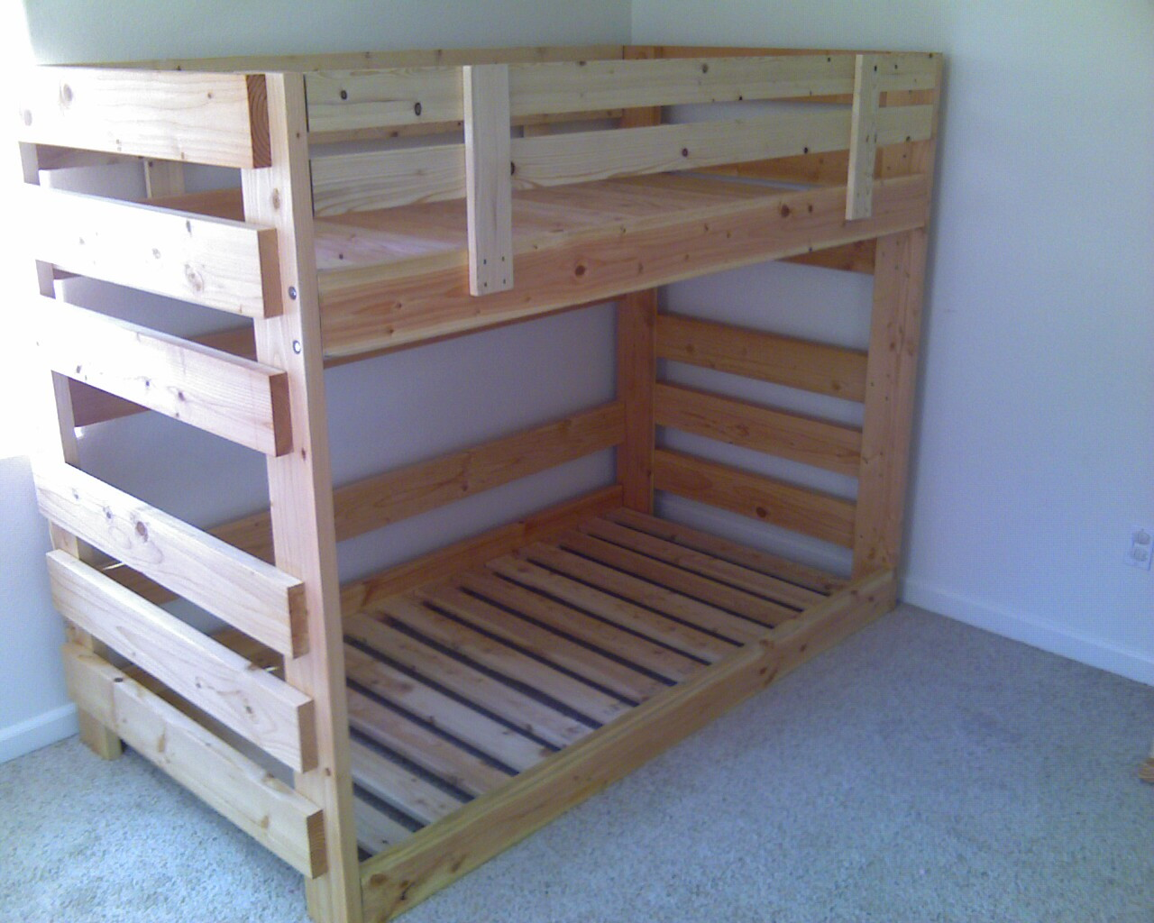 Todd\'s Custom Bunk Beds - The Wood Whisperer
