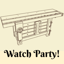 Watch Party - Under Workbench Cabinet