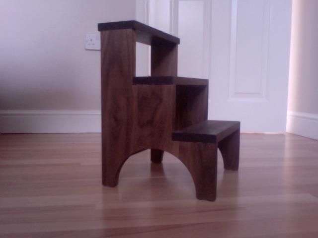 Astonishing Adams Shaker Step Stool The Wood Whisperer Alphanode Cool Chair Designs And Ideas Alphanodeonline