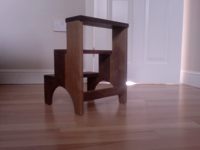 Cool Adams Shaker Step Stool The Wood Whisperer Alphanode Cool Chair Designs And Ideas Alphanodeonline