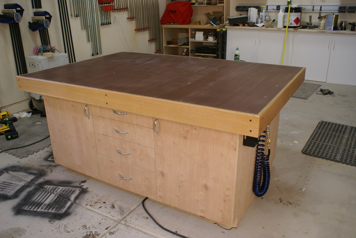 Torsion Box Table Warped X Carve Inventables Community