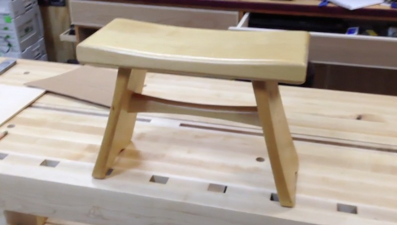 Superb 173 Sitting Bench Step Stool Preview The Wood Whisperer Alphanode Cool Chair Designs And Ideas Alphanodeonline