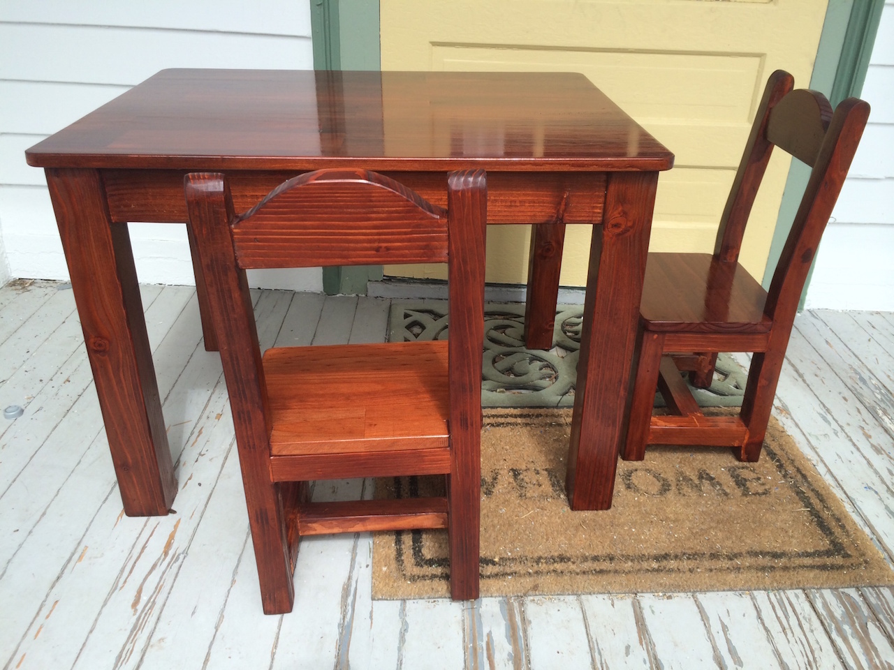 Fine Kids Table And Chairs The Wood Whisperer Caraccident5 Cool Chair Designs And Ideas Caraccident5Info