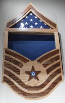 Chet S Air Force Shadow Box The Wood Whisperer