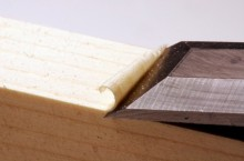 chisel paring wood