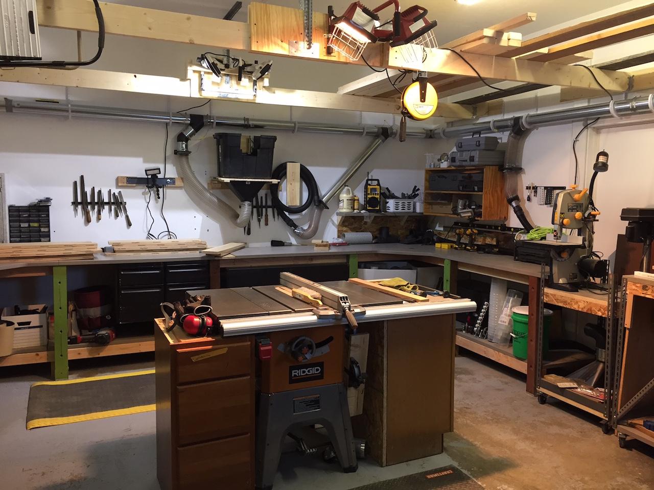 Craig S Garage Workshop The Wood Whisperer
