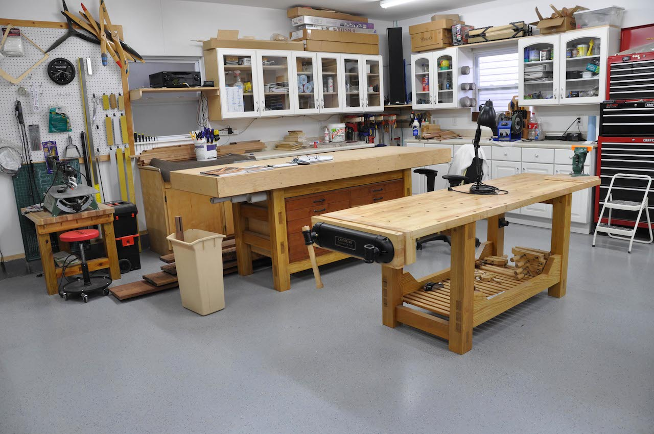 curt's standalone shop - the wood whisperer