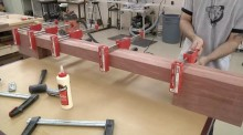 footboard-glueup