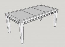 gaming-table-sketchup