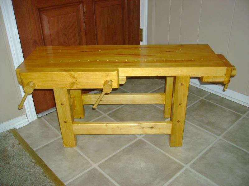 Peachy Mini Holtzapffel Workbench The Wood Whisperer Lamtechconsult Wood Chair Design Ideas Lamtechconsultcom