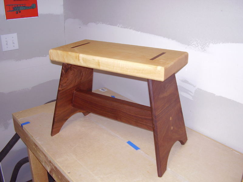 Groovy Jasons Step Stool The Wood Whisperer Alphanode Cool Chair Designs And Ideas Alphanodeonline