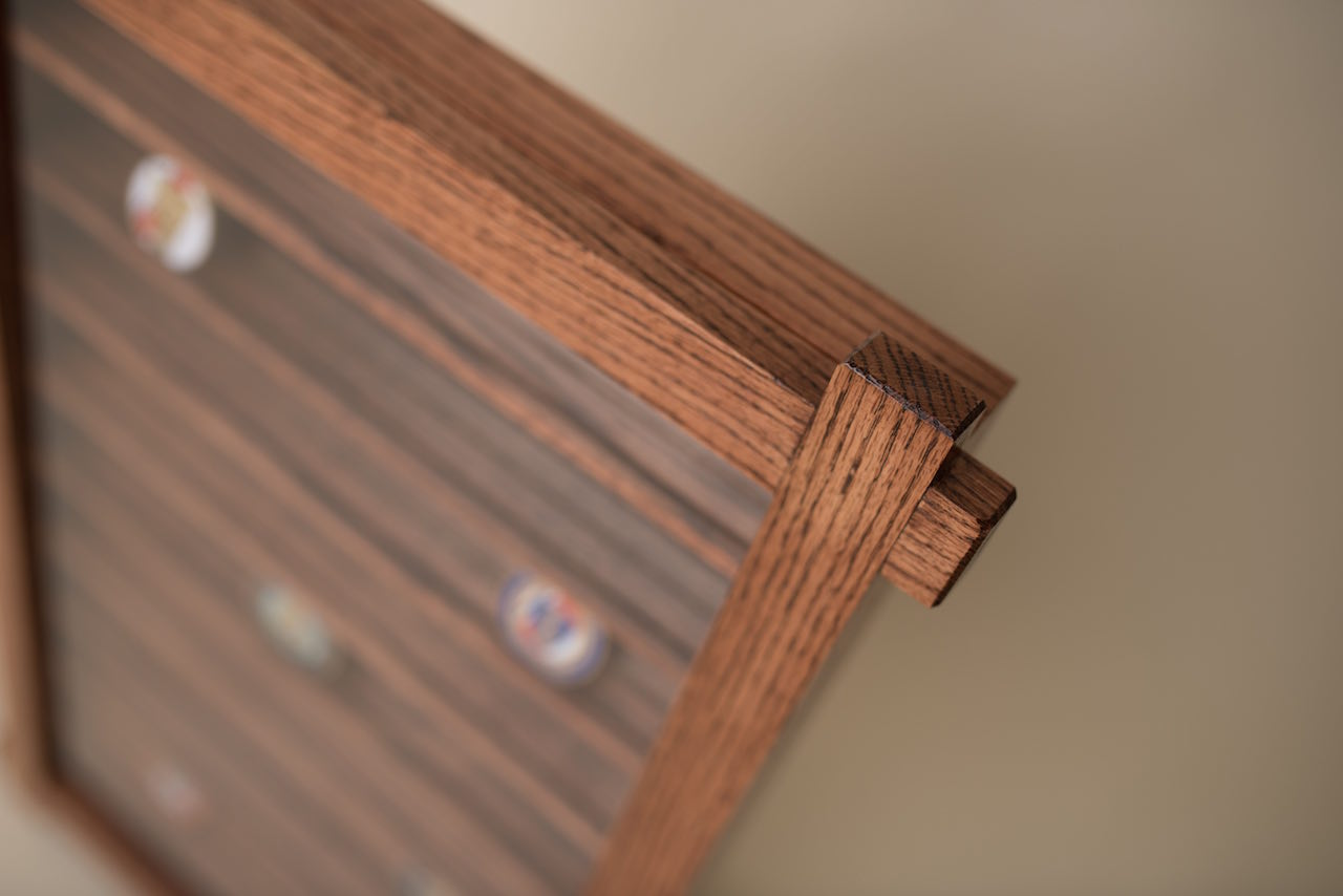 Jason's Coin Display Case - The Wood Whisperer