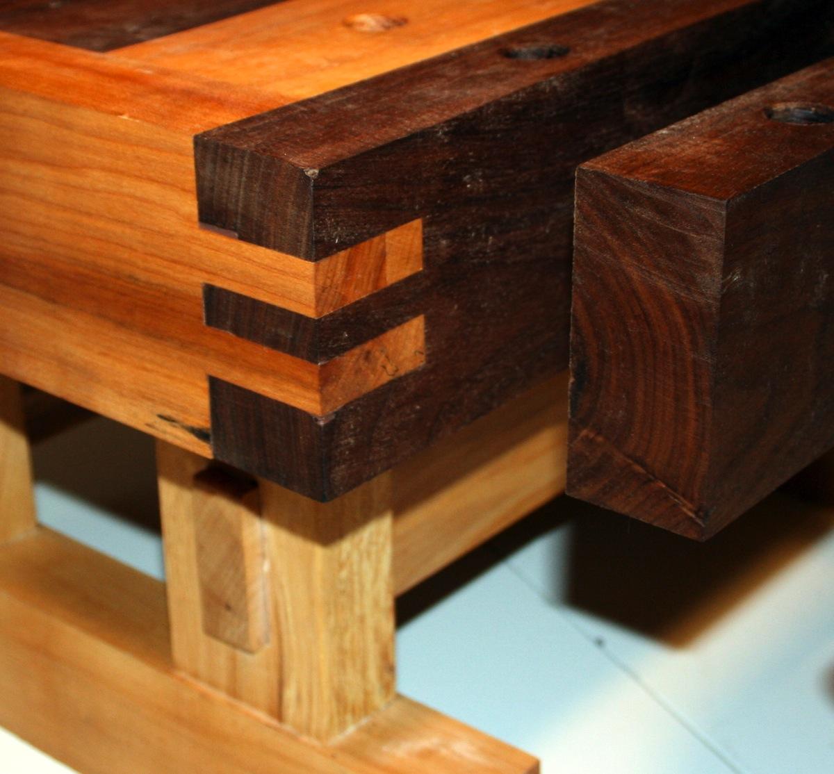 Sensational Jordans Benchtop Workbench The Wood Whisperer Frankydiablos Diy Chair Ideas Frankydiabloscom