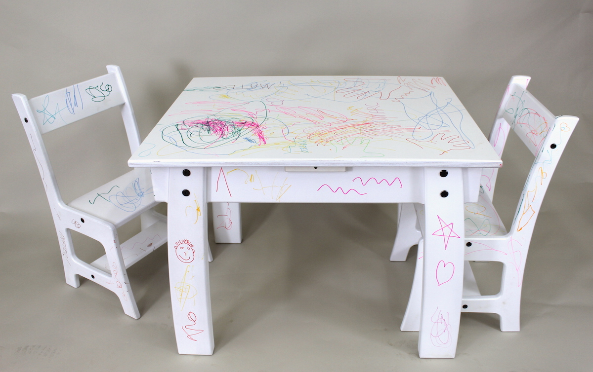 Kids Table Chair Set The Wood Whisperer