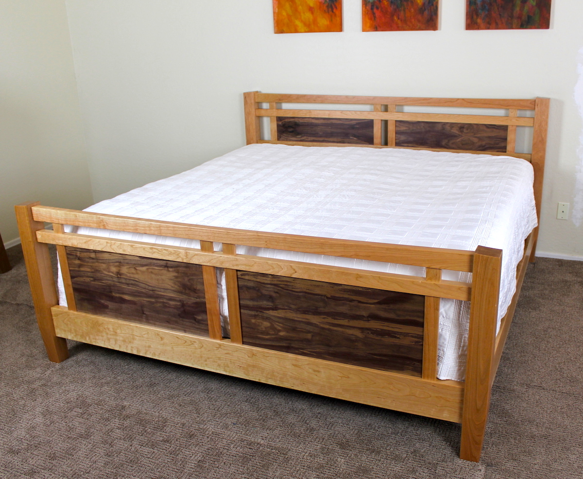 260 - King Size Bed - The Wood Whisperer