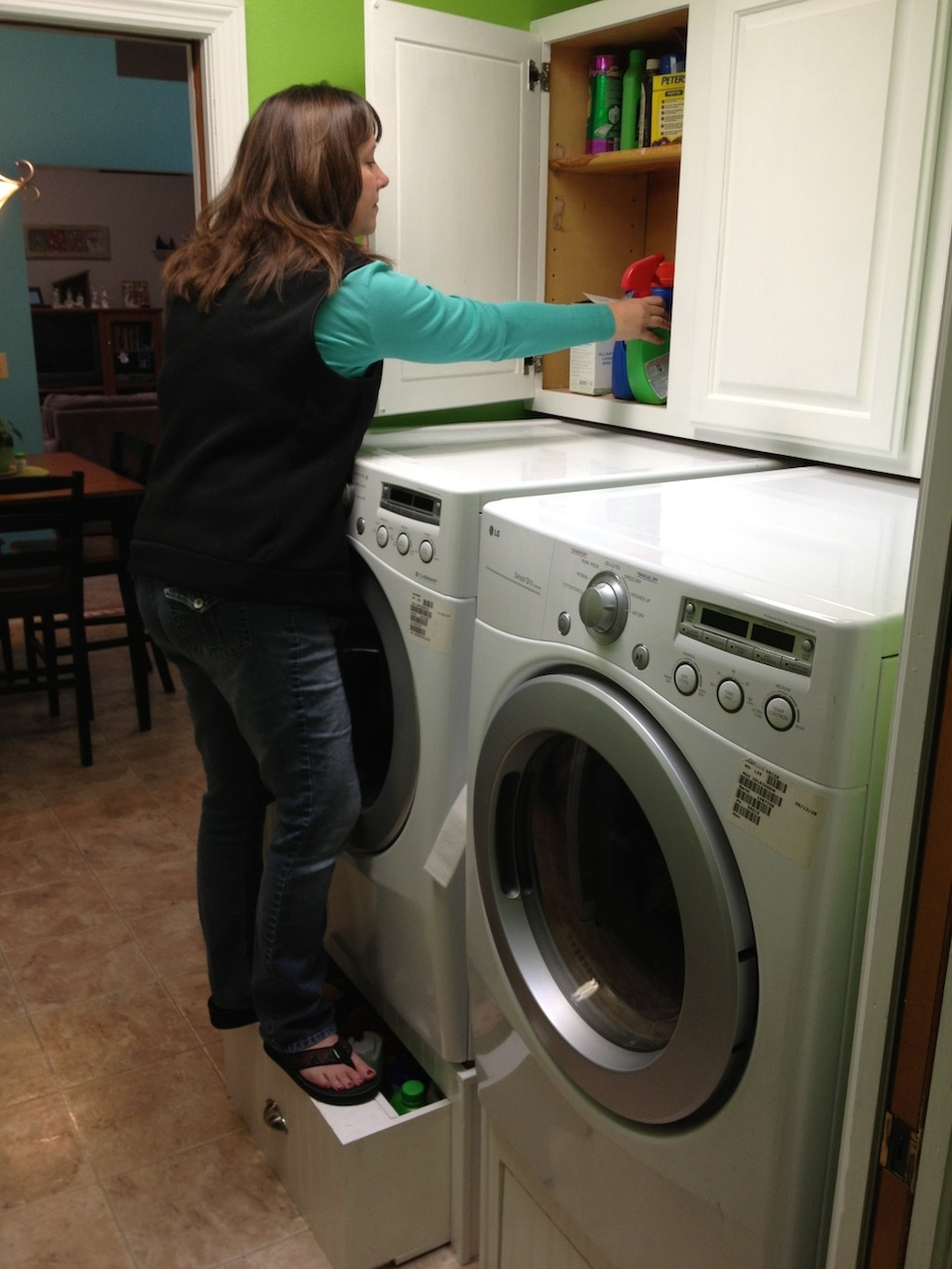 It S A Pretty Simple Project And Will Save Hundreds Of Dollars Over Ing Washer Dryer Pedestals