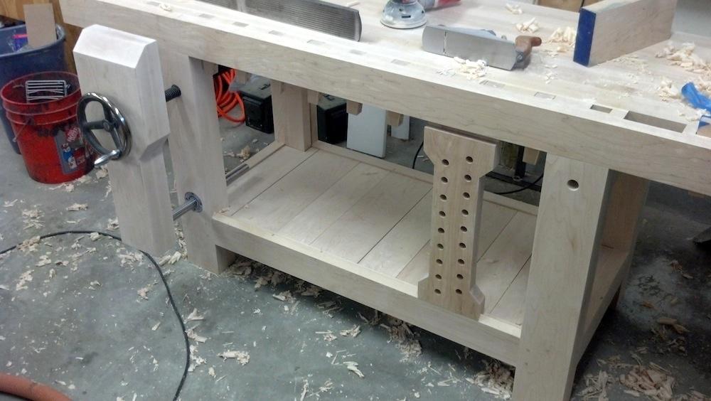 Roubo Workbench Leg Vise Alternative Linear Bearings The