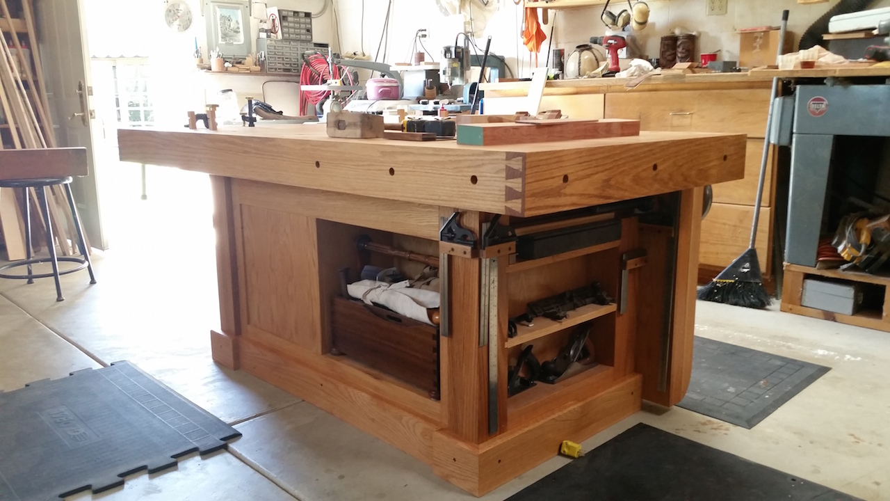 Fabulous Marks Shaker Workbench The Wood Whisperer Pabps2019 Chair Design Images Pabps2019Com