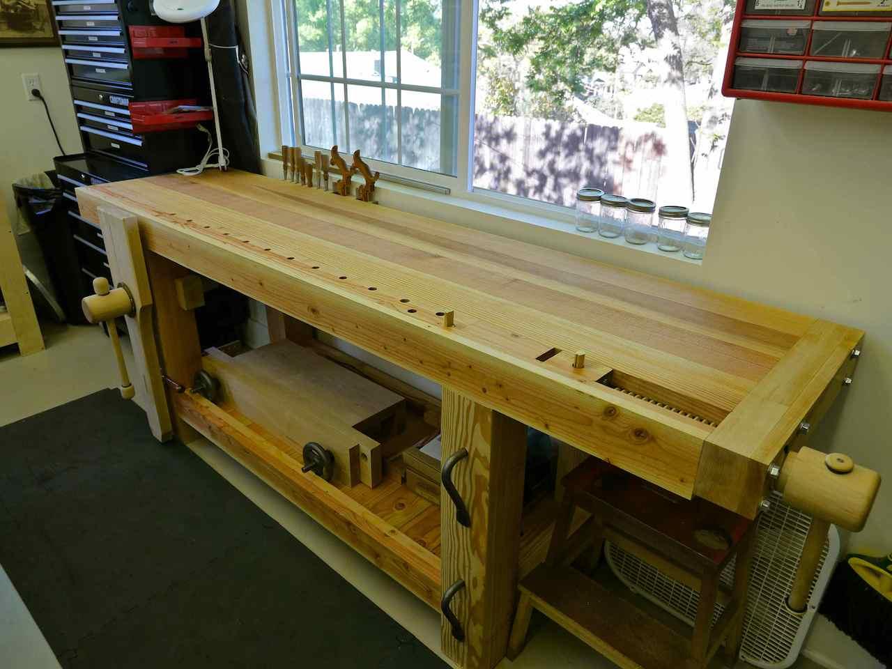 Michael S Roubo Workbench The Wood Whisperer