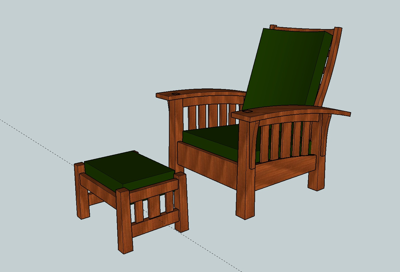 Build A Morris Chair The Wood Whisperer