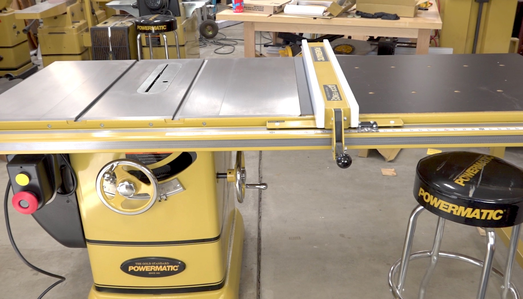 Assembly of a PM2000 Table Saw - New PM2000