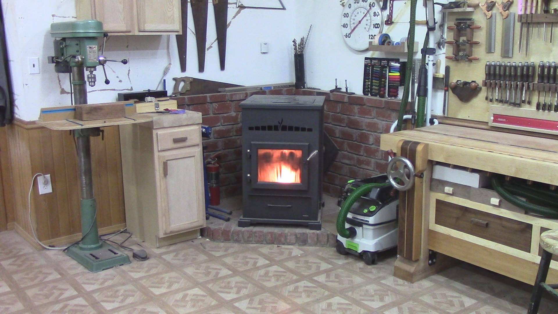 Shop Heating Options - stove