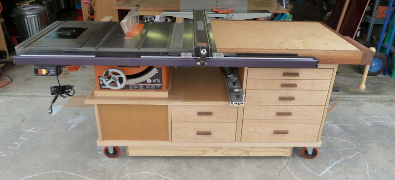 Phil S Tablesaw Work Station