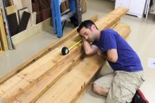 sleeping-on-wood