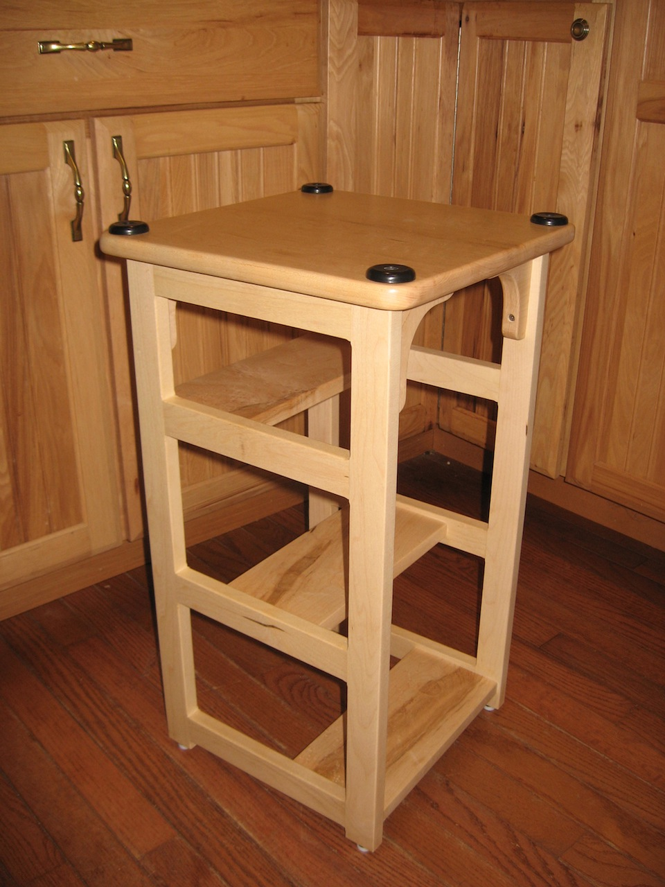 Fabulous Stans Hoosier Step Stool The Wood Whisperer Alphanode Cool Chair Designs And Ideas Alphanodeonline