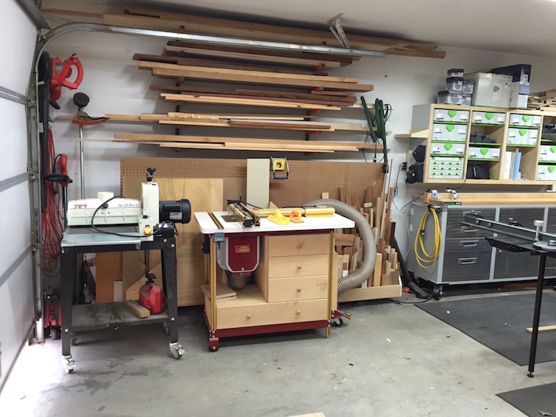 Steve's Garage Shop - The Wood Whisperer
